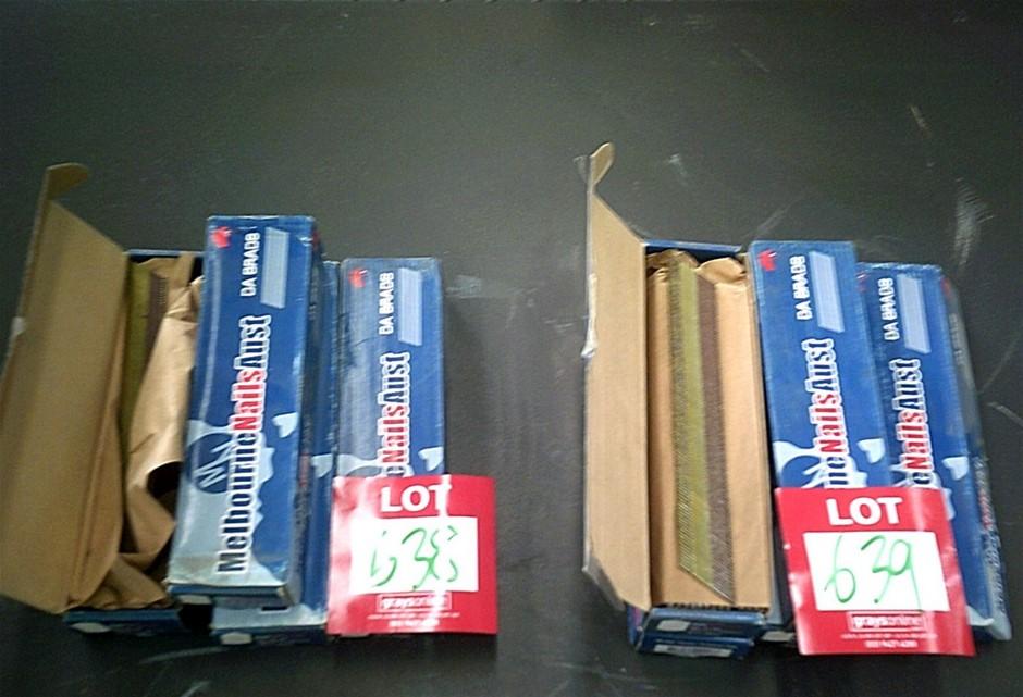 4 x boxes Melbourne Nails Aust.