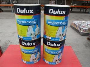 Qty 4 x Dulux Paint