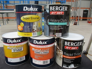 Qty 39 x Assorted Brands Assorted Paint