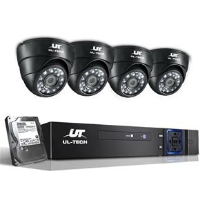 UL Tech CCTV Security System 2TB 8CH DVR