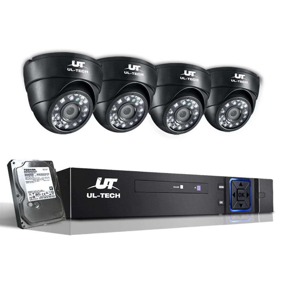 UL-tech CCTV Camera Security System Home DVR 1080P with 1TB Hard Drive