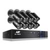 UL-tech CCTV Cameras Security Camera System 8CH DVR 1080P HD Set Outdoor IP