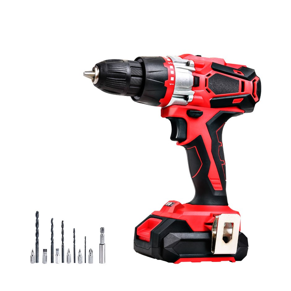 Giantz Impact Cordless Hand Drill Electric 20V Lithium Drill