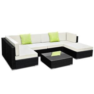 Gardeon 7 Piece Outdoor Furniture Set Wi