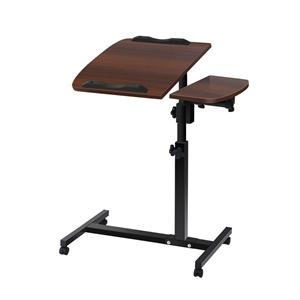 Mobile Laptop Desk - Walnut