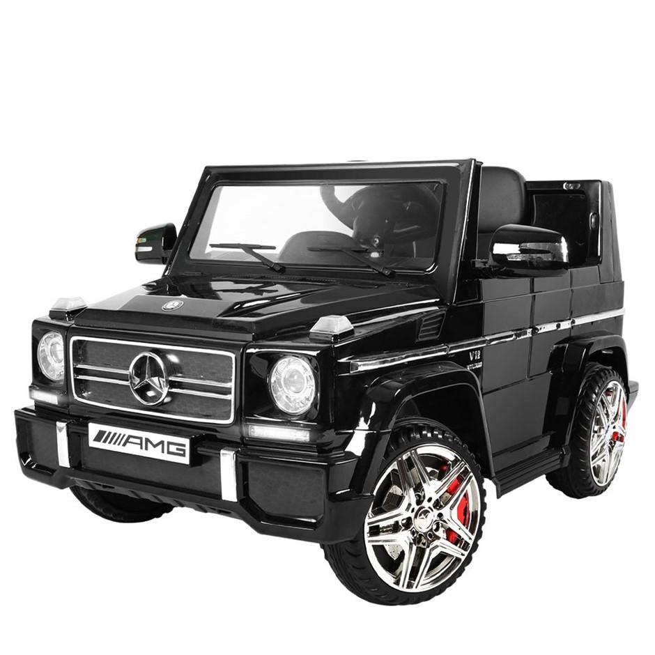 Rigo Kids Ride On Mercedes Benz G65 - Black