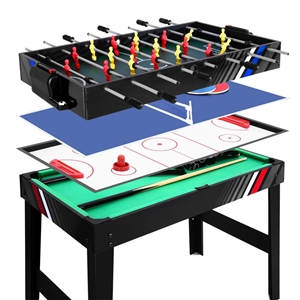 4FT 4-In-1 Soccer Table Tennis Ice Hocke