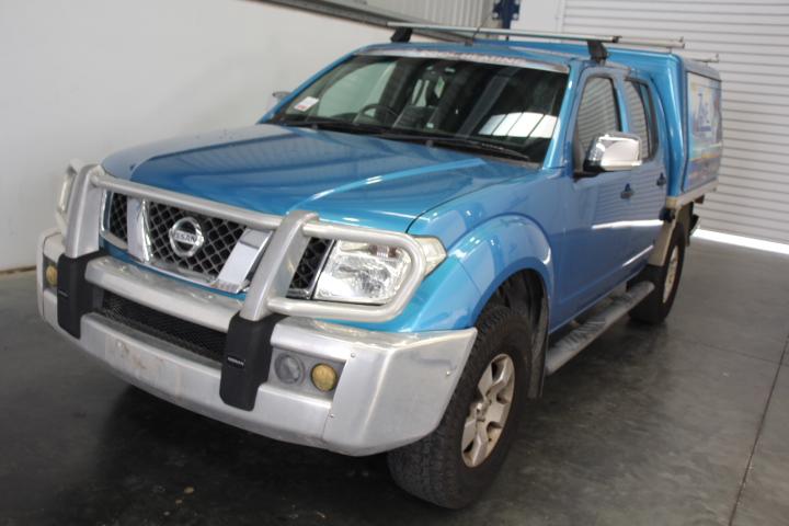 2008 Nissan Navara ST-X (4x4) D40 Auto Dual Cab Turbo Diesel