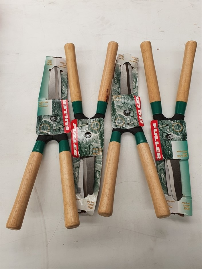 Qty 6 x Unused Fuller Tools Hedge Shears