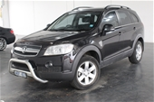 Unreserved 2009 Holden Captiva CX (4x4) CG Automatic