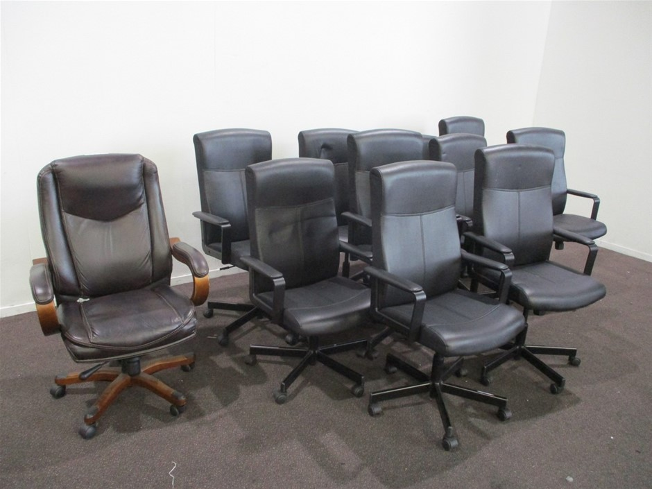 Qty 11 x Office Chairs