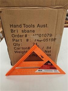 Qty 24 x True Tools Rafting Angle Square