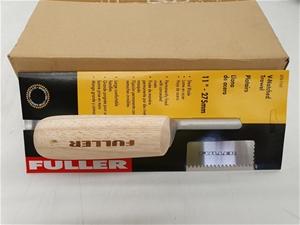 Qty 6 x Fuller Tools Corner Trowels
