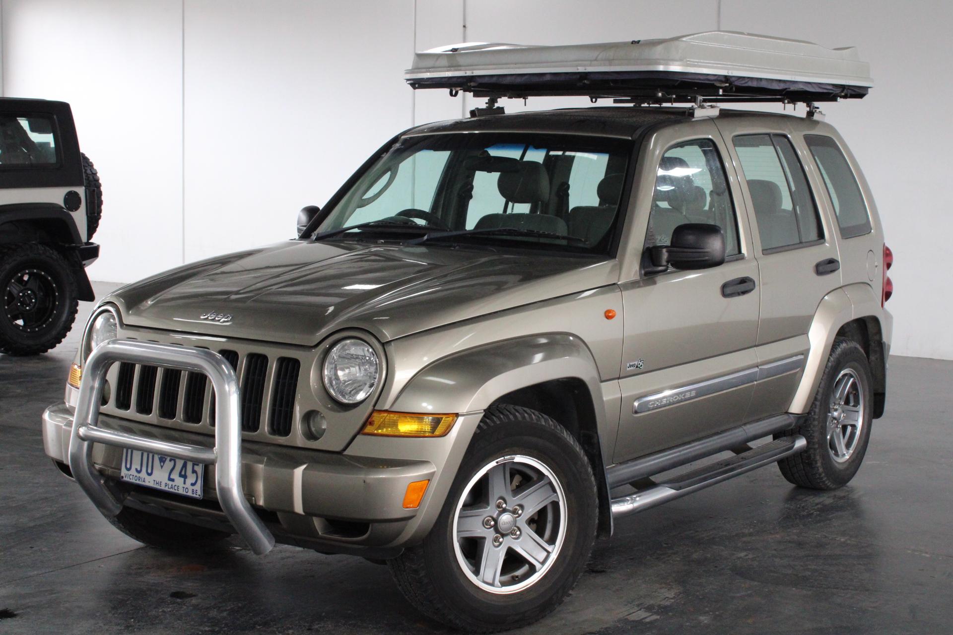 2006 Jeep Cherokee Sport (4x4) KJ Turbo Diesel Automatic Wagon