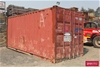<B>20` Shipping Container</B> <li>Includes, Welded 3 Tier Shelving ``L`` S