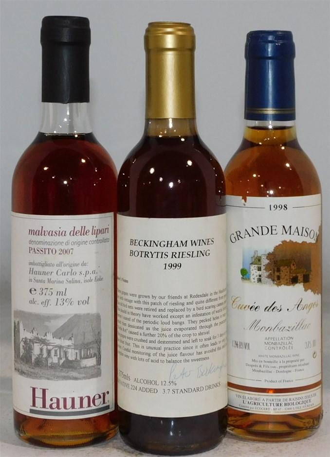 Pack of Assorted Desert Wines (3x 375ml)