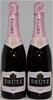 Deutz Rose Pinot Noir Chardonnay NV (2x 750mL), NZ. Cork closure.