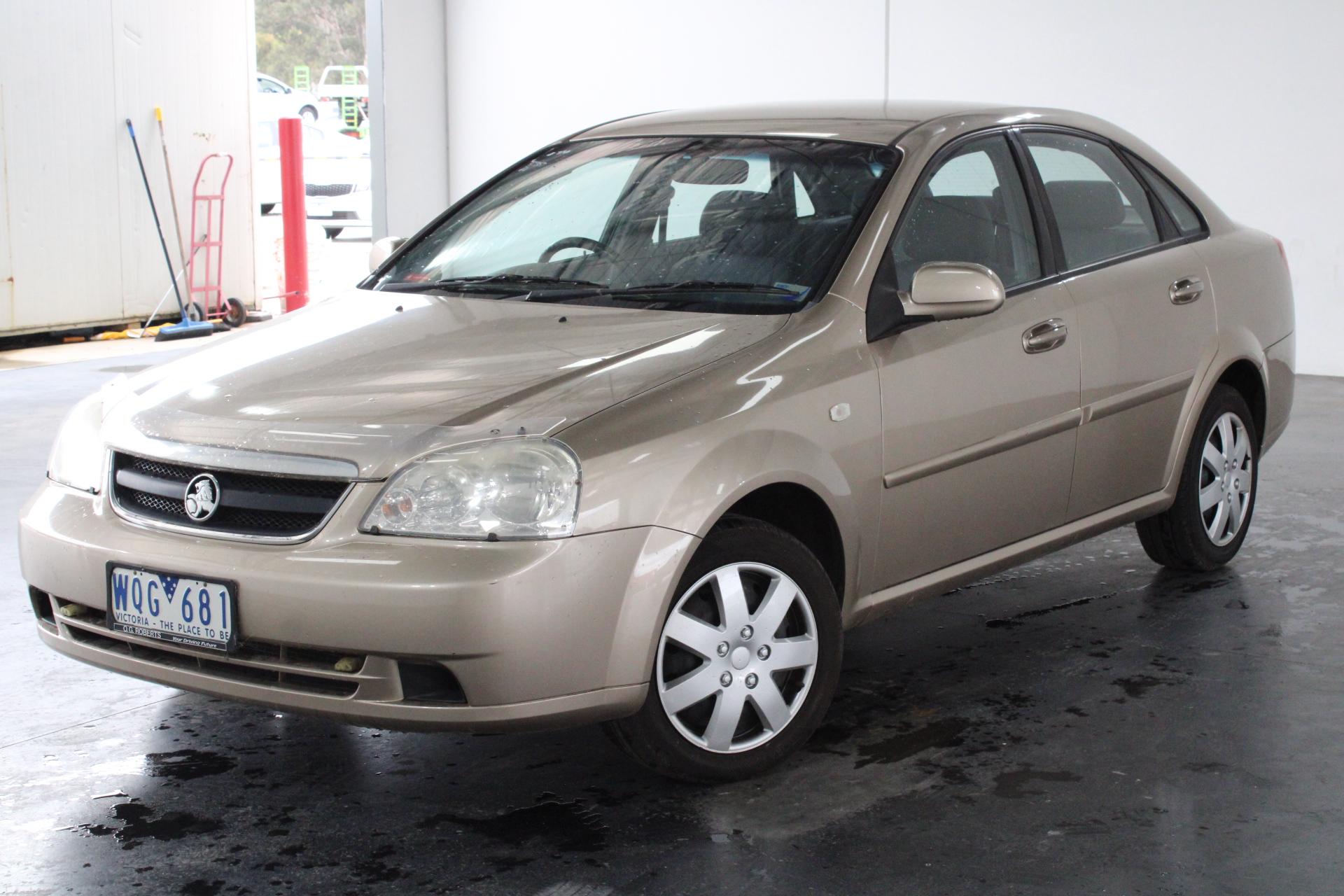 2007 Holden Viva Equipe JF Manual Sedan