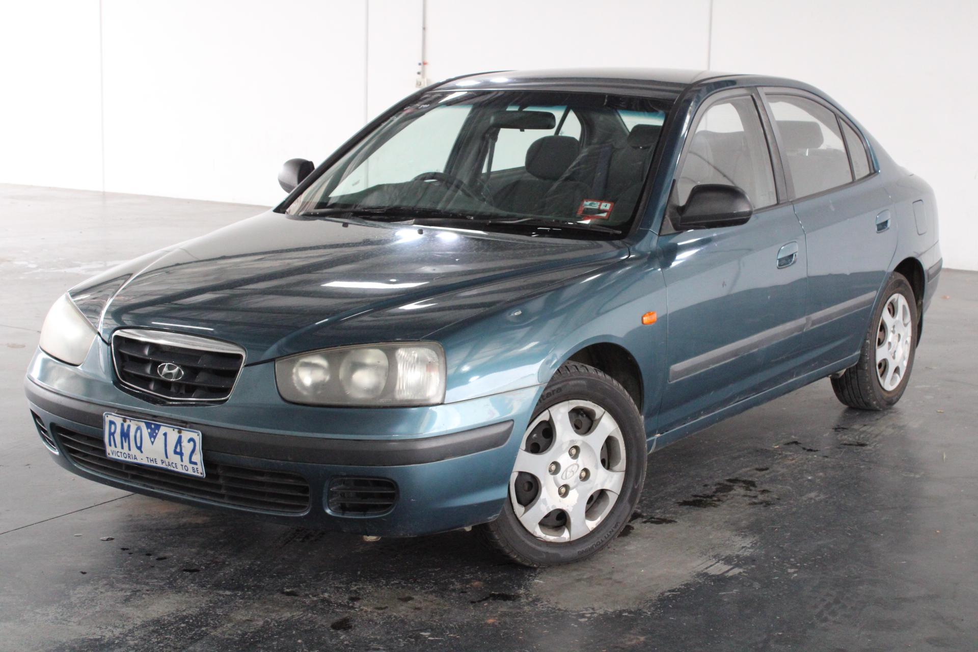 2001 Hyundai Elantra GL XD Automatic Sedan