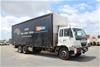 2007 Nissan PKA265 6 x 2 Curtainsider Rigid Truck
