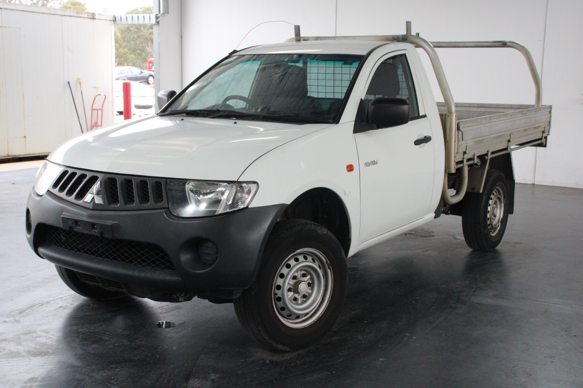 2008 Mitsubishi Triton GLX ML Turbo Diesel Manual Cab Chassis