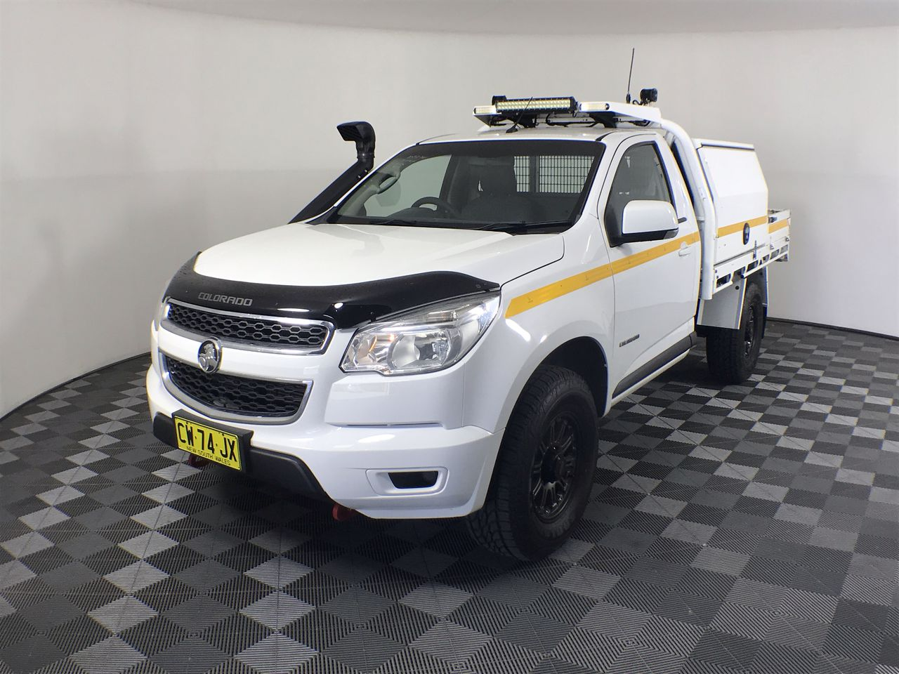 2015 Holden Colorado 4X2 LX RG Turbo Diesel Manual Cab Chassis