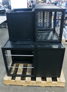 Small Rack Cabinet (6-Pack) Please Note: