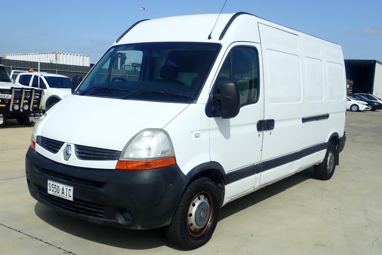 2010 Renault Master AIR L3H2 Turbo Diesel Semi-Automatic Van