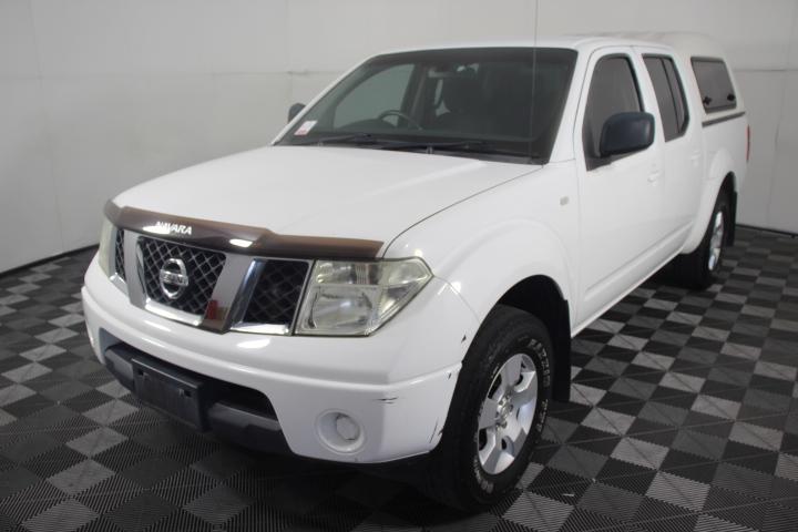 2010 Nissan Navara RX 4X2 DOUBLE CAB D40 Turbo Diesel Manual Dual Cab