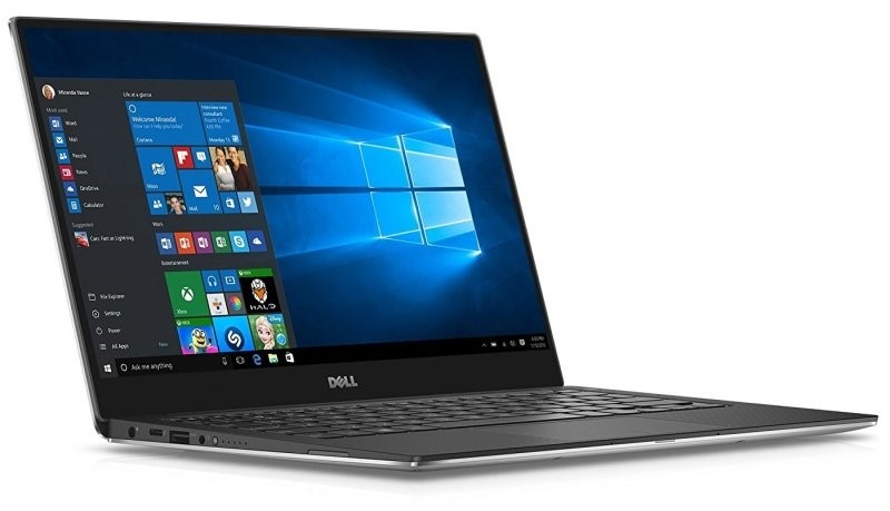 Dell XPS 13 9365 13.3-inch Notebook, Silver/Black