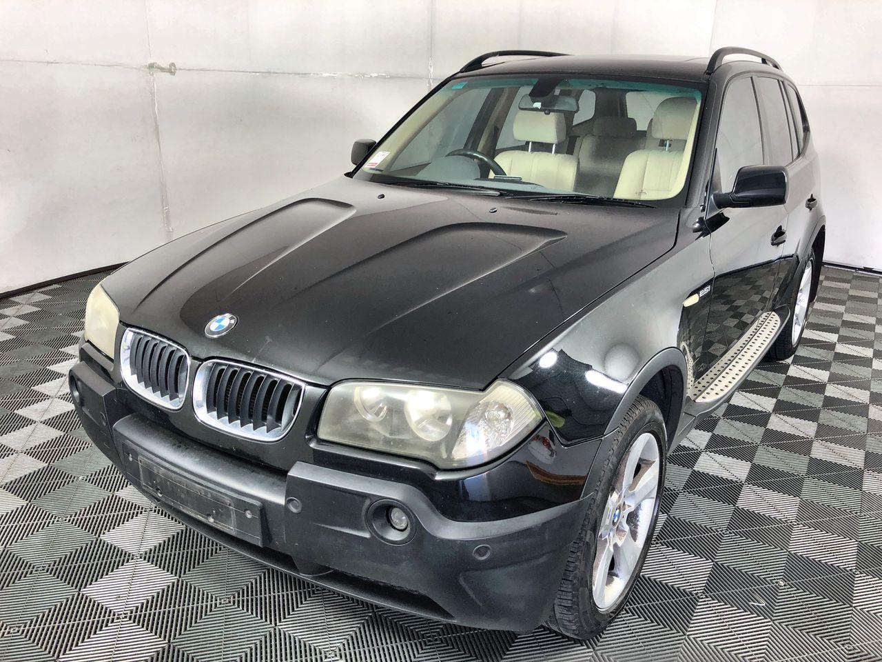 2004 BMW X3 2.5i E83 Automatic Wagon