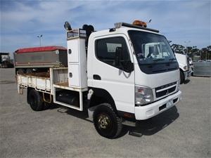 2009 Fuso Canter 4x4 Tipper Truck