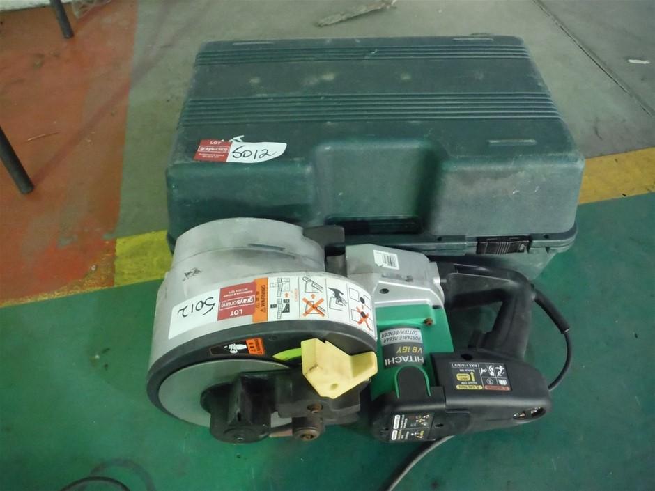 Hitachi Rebar Cutter/Bender