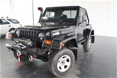 Unreserved 1999 Jeep Wrangler Sport (4x4) TJ Manual Wagon