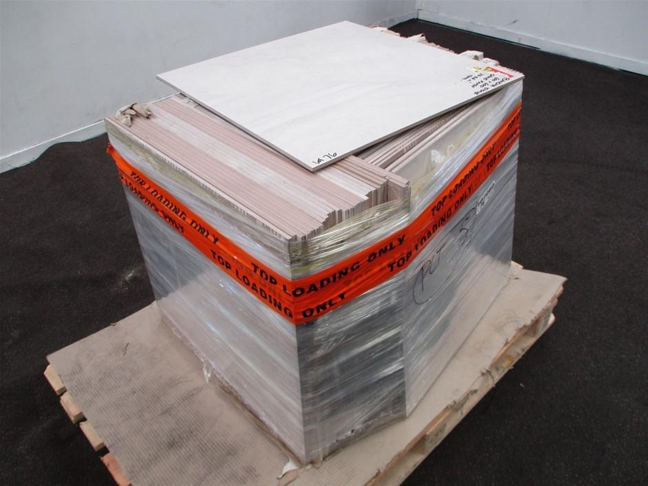 Part Pallet of Floor Tiles