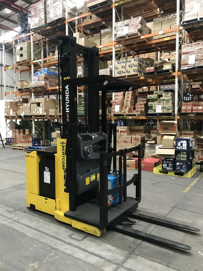 Order Picker Forklift Hyundai Model 10/13BOP-7 AC
