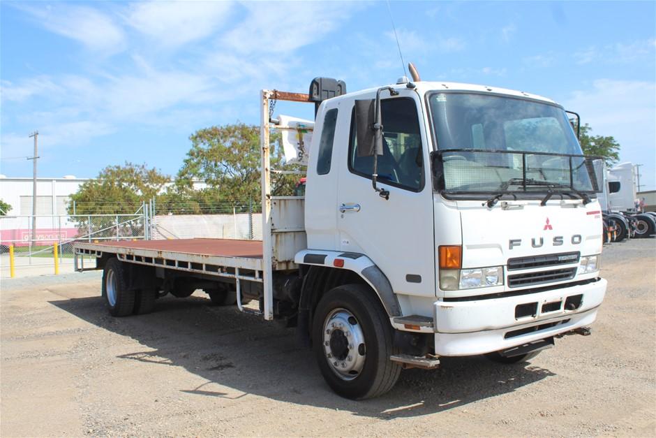 2007 Mitsubishi Fuso Turbo Deisel Tray Body Truck (Ex Corp)