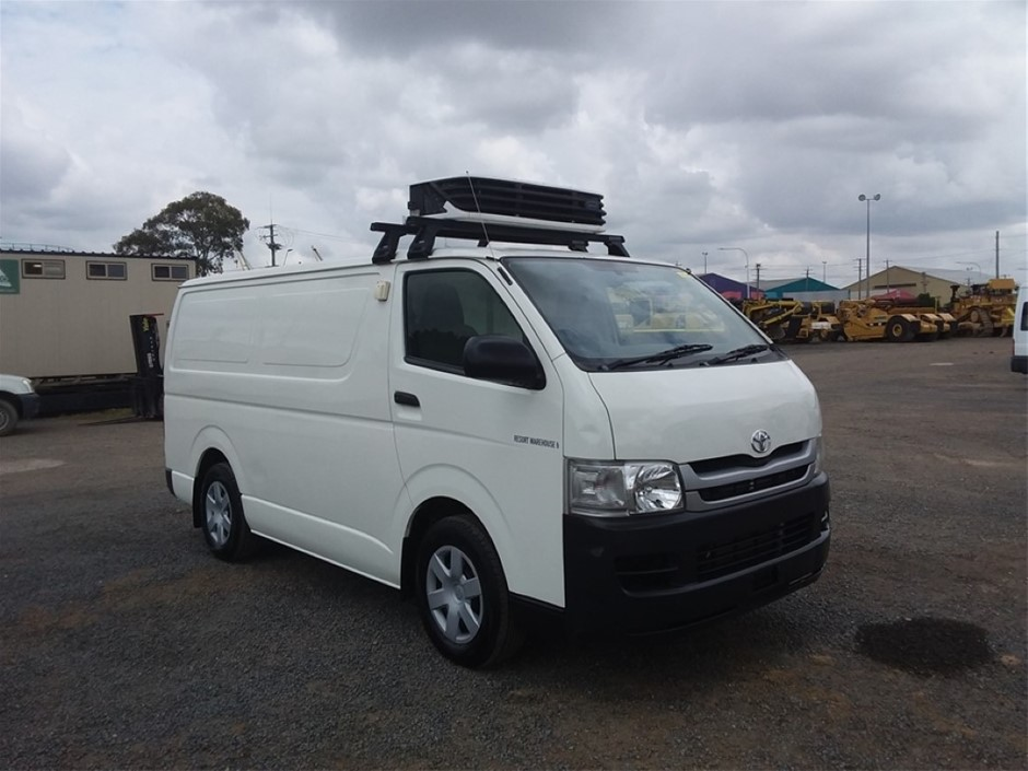 2009 Toyota Hiace Refrigerated Van