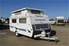 2000 Traveller Freelander Single Pop Top Caravan