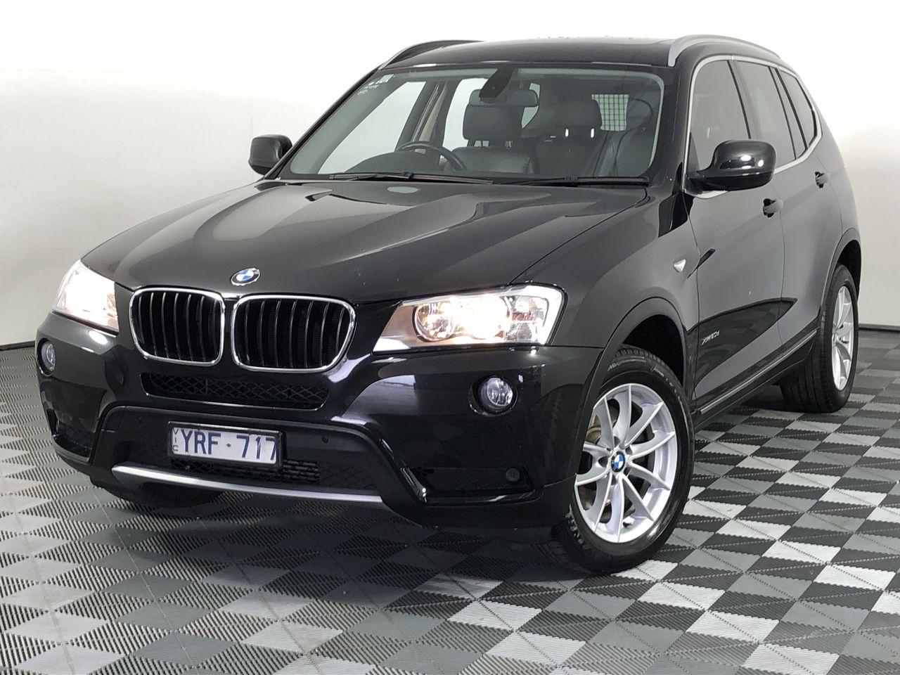 2011 BMW X3 xDrive 20d F25 Turbo Diesel Automatic - 8 Speed Wagon