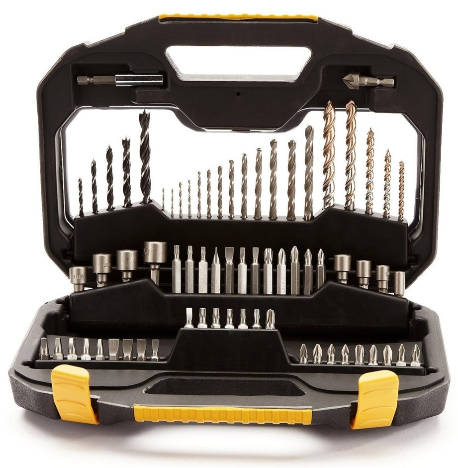 STANLEY FatMax 70pc Drill and Bit Set in Carry Case. Buyers Note - Discount