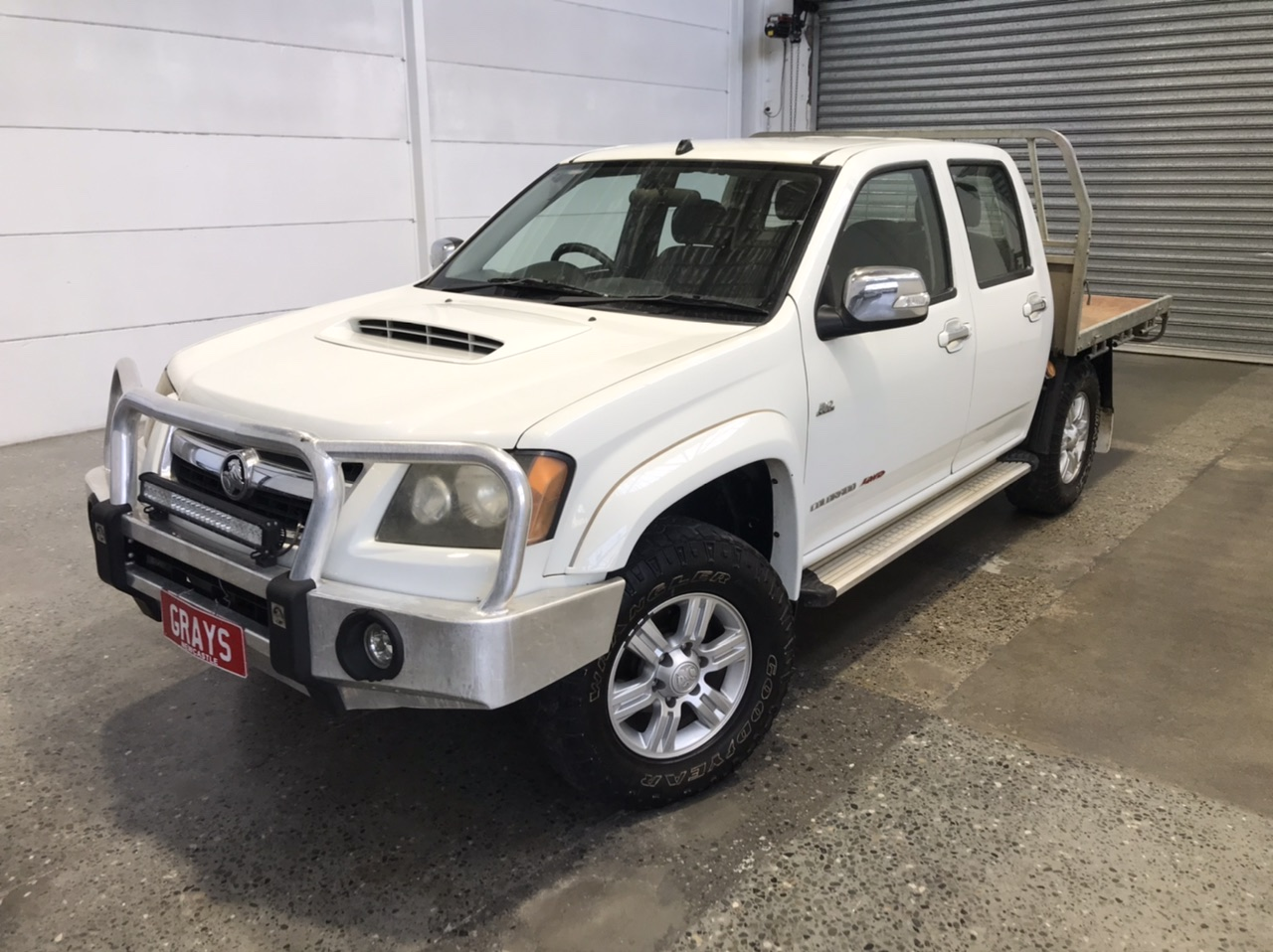 2009 Holden Colorado LT-R (4x4) RC Turbo Diesel Manual Dual Cab