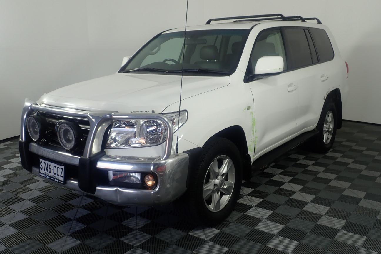 2010 Toyota Landcruiser VX (4x4) Turbo Diesel Automatic 7 Seats Wagon