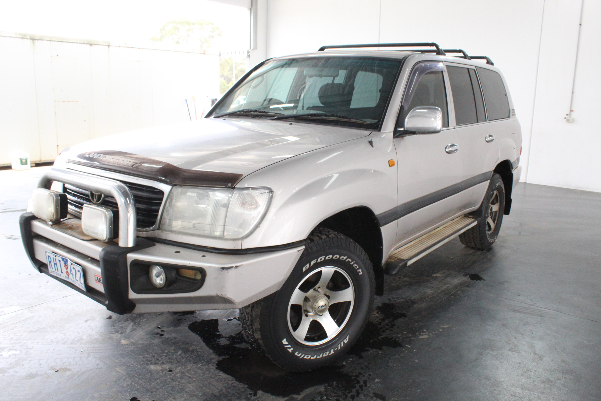 2001 Toyota Landcruiser GXL (4x4) FZJ105R Automatic 7 Seats Wagon