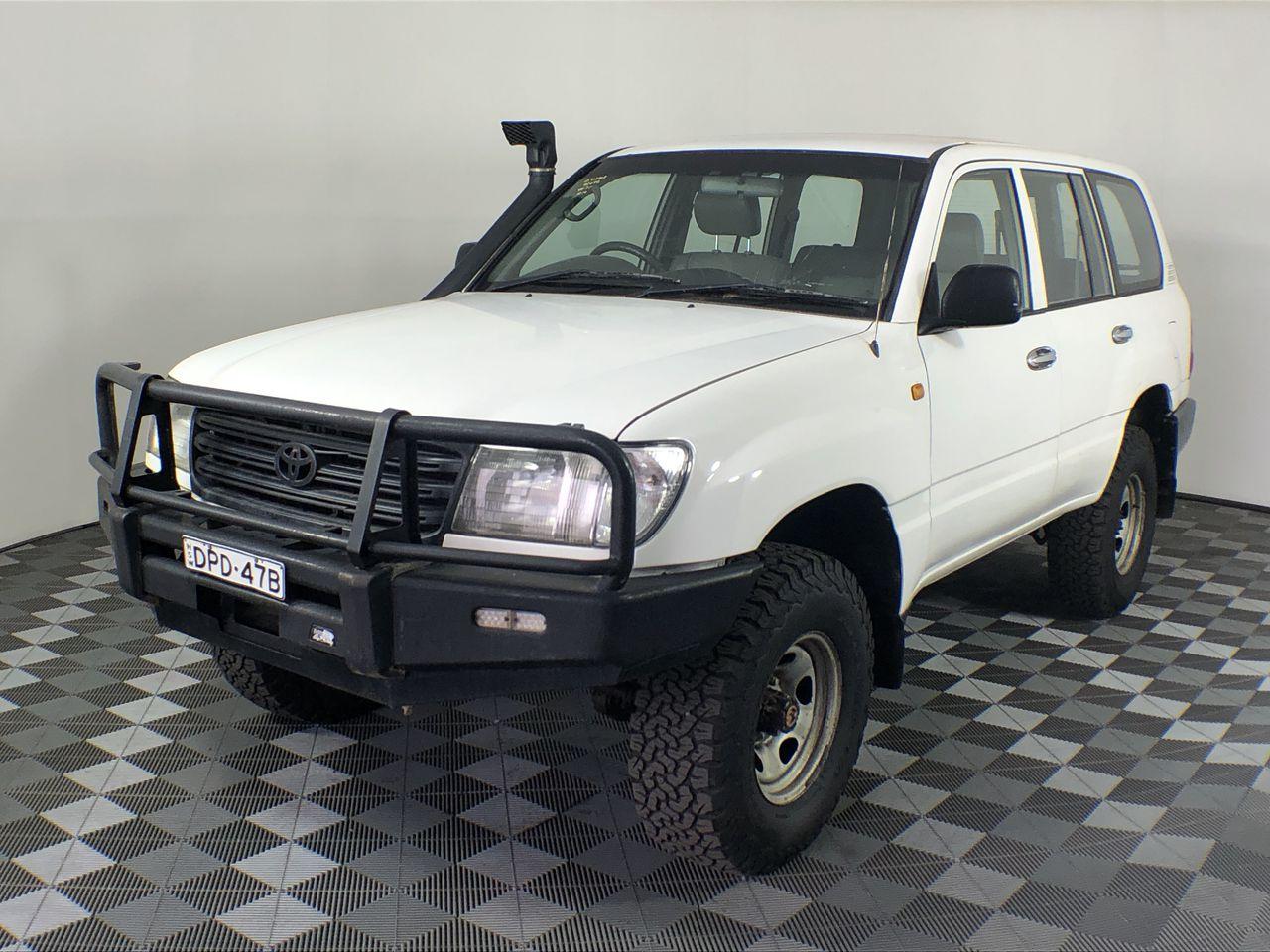 2003 Toyota Landcruiser (4x4) HZJ105R Manual Wagon
