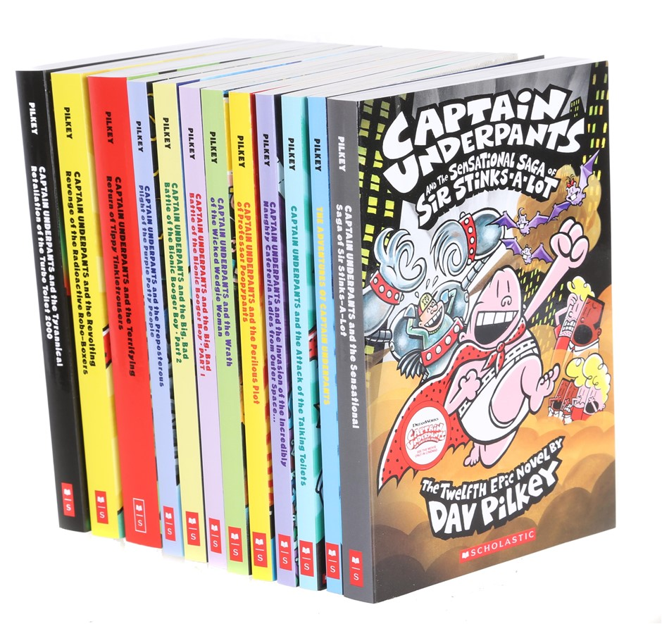 SCHOLASTIC ``The Extra Crunchy Ultimate Collection of Captain Underpants``