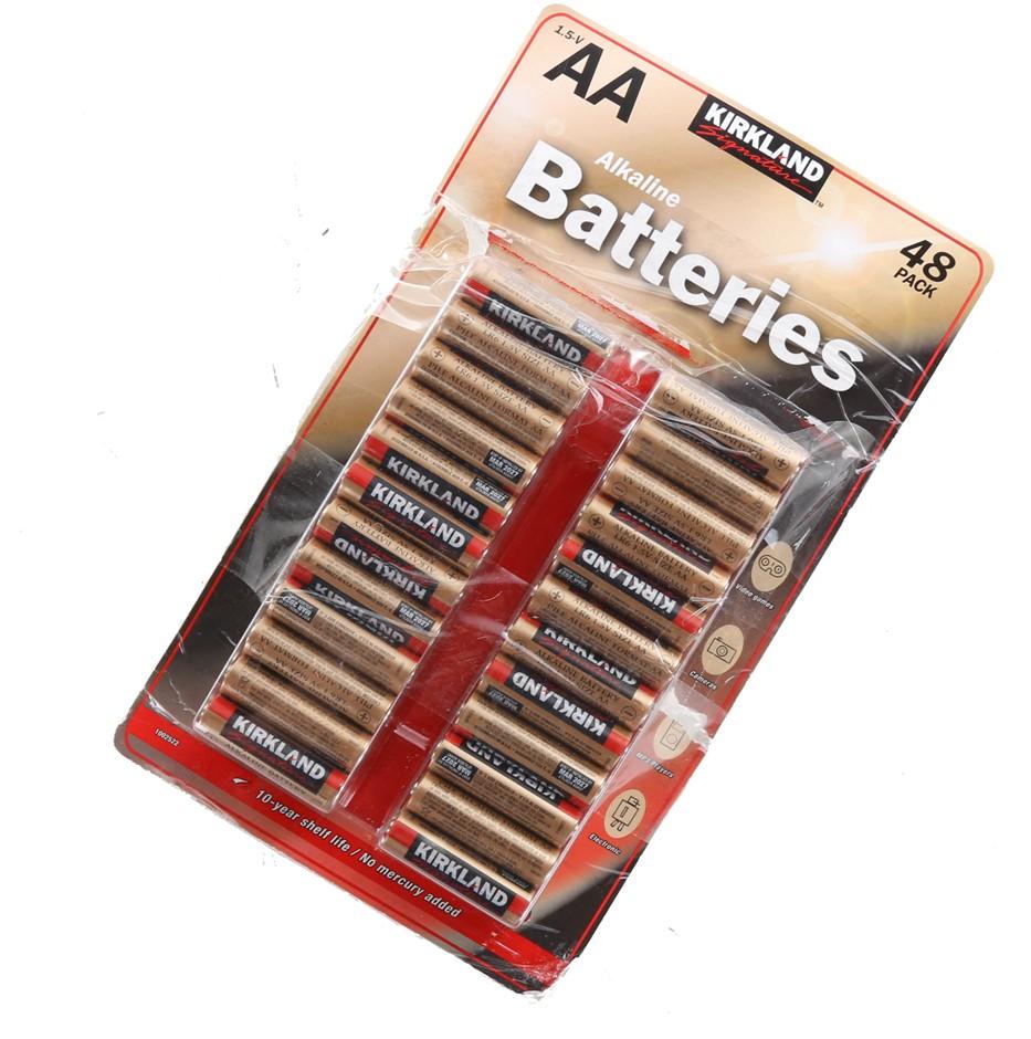 48 x KIRKLAND SIGNATURE AA Alkaline Batteries. N.B. Not in original packagi