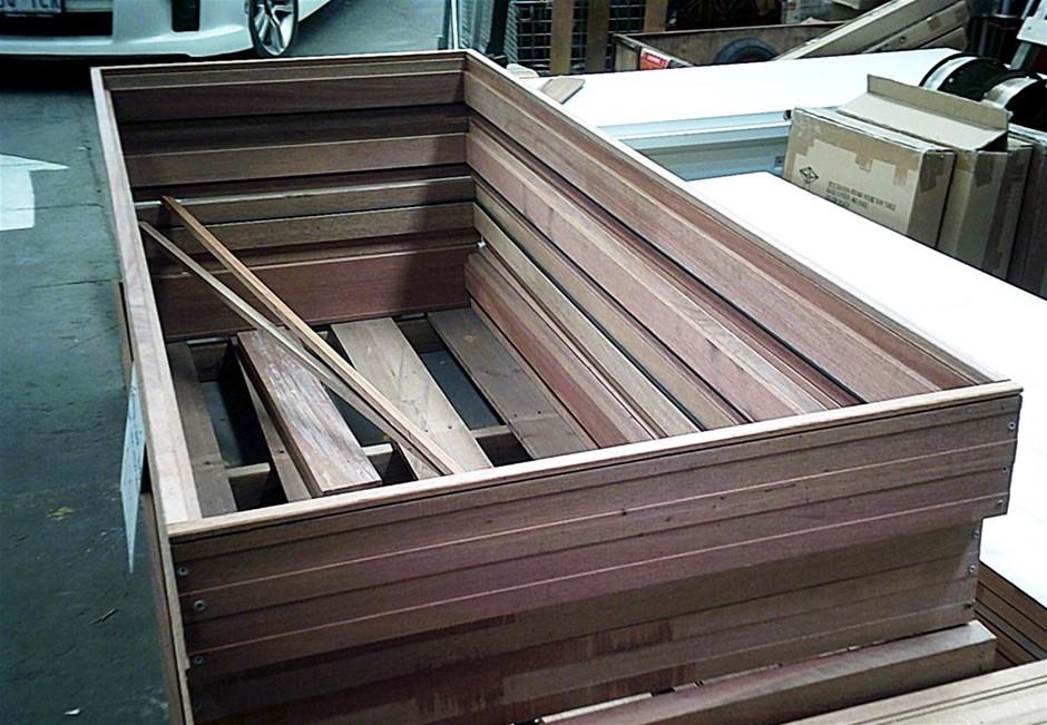 Meranti External Door Jamb Set. Suits 2040mm x 820mm Door. In Kit Form