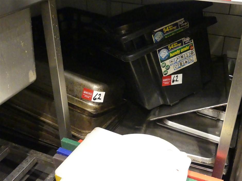 Qty Assorted x Food Preparation Equipment