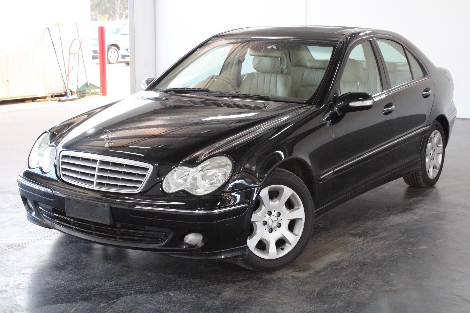 2004 Mercedes Benz C180 Elegance W203 Automatic Sedan